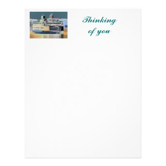 friday harbor ferry San juan island  | ferry land Letterhead