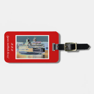 friday harbor ferry San juan island  | ferry land Luggage Tag