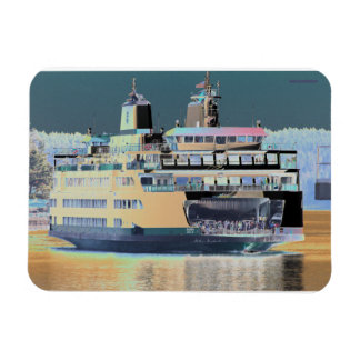 friday harbor ferry San juan island  | ferry land Magnet