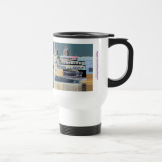 friday harbor ferry San juan island  | ferry land Travel Mug