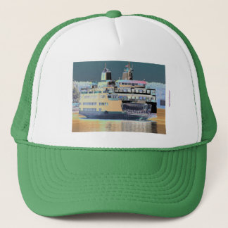 friday harbor ferry San juan island  | ferry land Trucker Hat