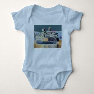 Friday Harbor Ferry San Juan Island - The Samish Baby Bodysuit