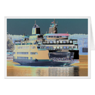 Friday Harbor Ferry San Juan Island - The Samish Card