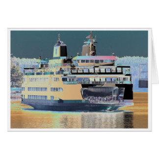 Friday Harbor Ferry San Juan Island - The Samish Card