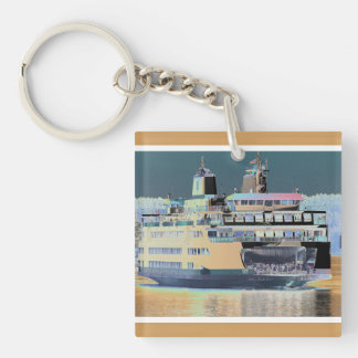 Friday Harbor Ferry San Juan Island - The Samish Keychain