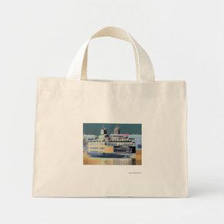 Friday Harbor Ferry San Juan Island - The Samish Mini Tote Bag