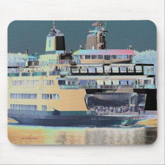 Friday Harbor Ferry San Juan Island - The Samish Mouse Pad