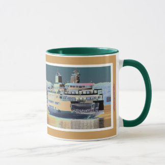 Friday Harbor Ferry San Juan Island - The Samish Mug