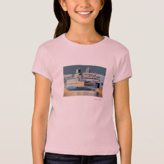Friday Harbor Ferry San Juan Island - The Samish T-Shirt