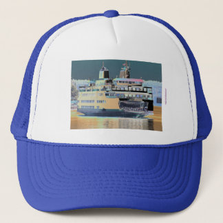 Friday Harbor Ferry San Juan Island - The Samish Trucker Hat