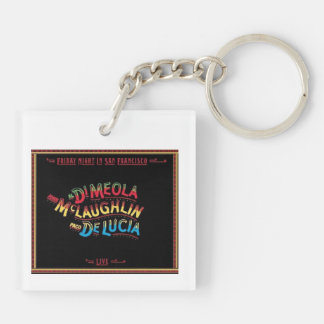 Friday Night in San Francisco keychain