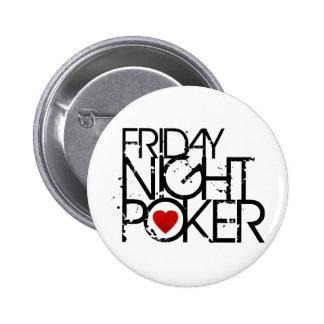 Friday Night Poker 2 Inch Round Button