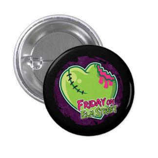 Friday on Elm Street - Zombie Heart Pin B