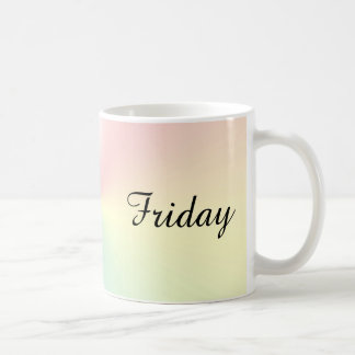 Friday Shimmer Coffee Mug by Janz