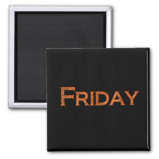 Friday Teaching or Memory Aid Magnet