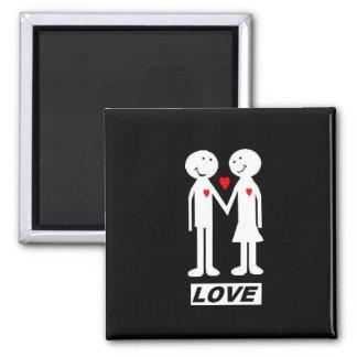 """fridge magnet """"love"""""""