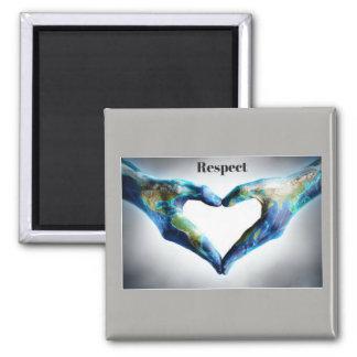 Fridge Magnet - Respect