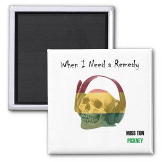 Fridge Magnet - When I Need a Remedy