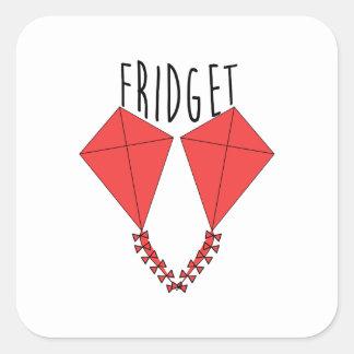 Fridget Wentworth Square Sticker