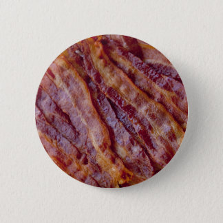 Fried bacon 2 inch round button