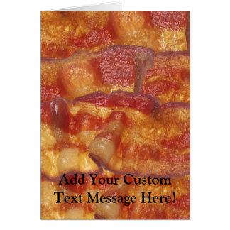 Fried Bacon Strip Card