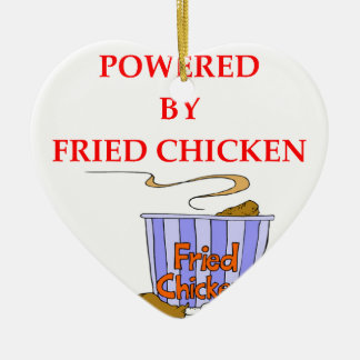 FRIED CHICKEN CERAMIC ORNAMENT