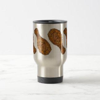 Fried Chicken Drumstick Leg Soul Food Foodie Meat Travel Mug