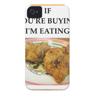 fried chicken iPhone 4 cases