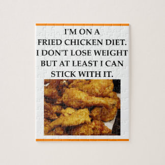 FRIED CHICKEN JIGSAW PUZZLE