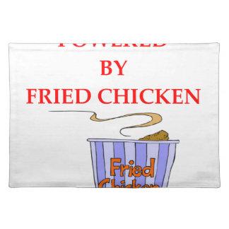 FRIED CHICKEN PLACE MATS