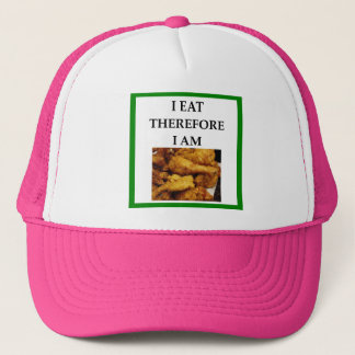 fried chicken trucker hat