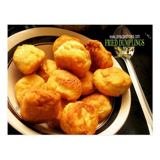 Fried Dumplings Johnny Cake Postcard