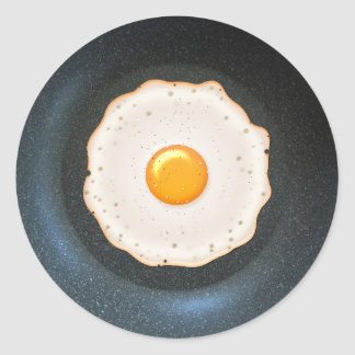 Fried Egg in Pan - Sticker