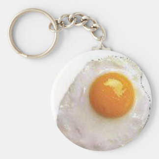 Fried Egg Keychain