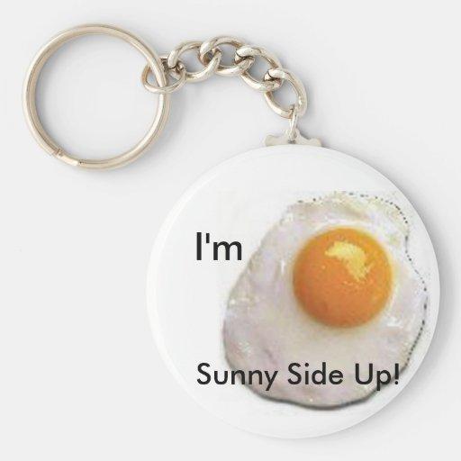 Fried Egg Keychain