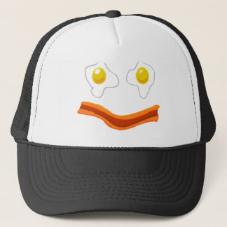 Fried Eggs and Bacon Set Trucker Hat
