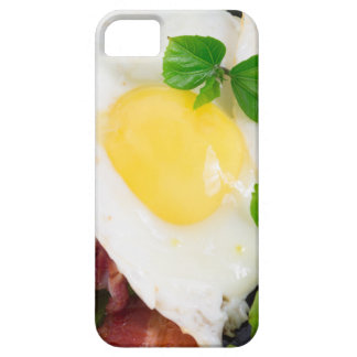 Fried eggs and bacon with herbs and lettuce case for the iPhone 5