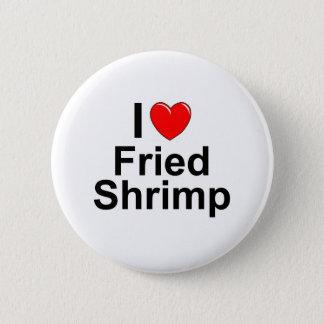 Fried Shrimp 2 Inch Round Button