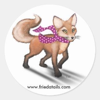Frieda the Fox sticker