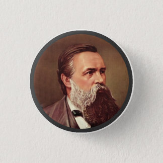 Friedrich Engels - Lapel Pin