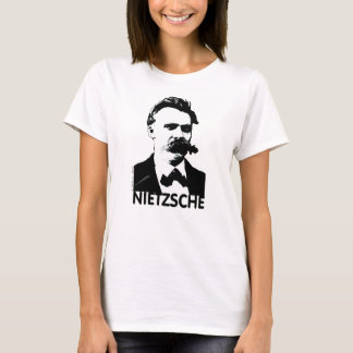 Friedrich Nietzche German Philosopher Spleeburgen T-Shirt