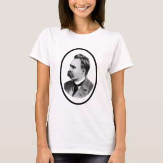 Friedrich Nietzsche o Black The MUSEUM Zazzle Gift T-Shirt