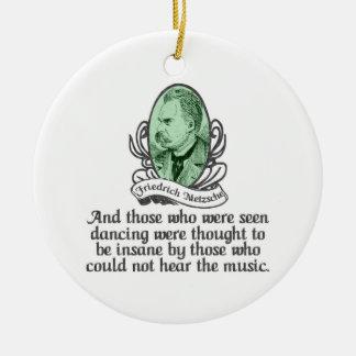 Friedrich Nietzsche Ornament