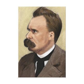 Friedrich Nietzsche Philosophy Fine Art Box Canvas