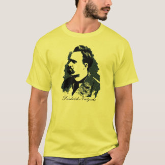 Friedrich Nietzsche portrait vector drawing T-Shirt