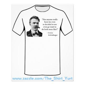 Friedrich Nietzsche Troll Quote Full Colour Flyer