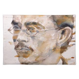 friedrich nietzsche - watercolor portrait.2 placemat
