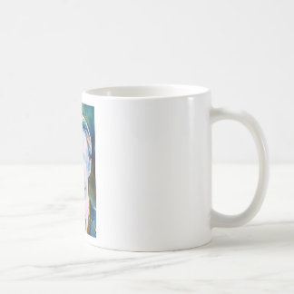 friedrich nietzsche - watercolor portrait coffee mug