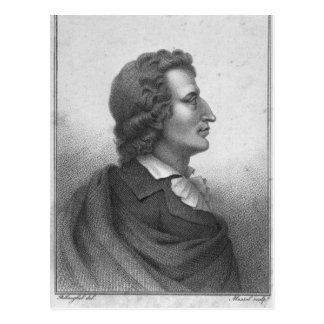 Friedrich Schiller  engraved by Massol Postcard