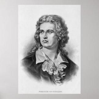 Friedrich Schiller Poster